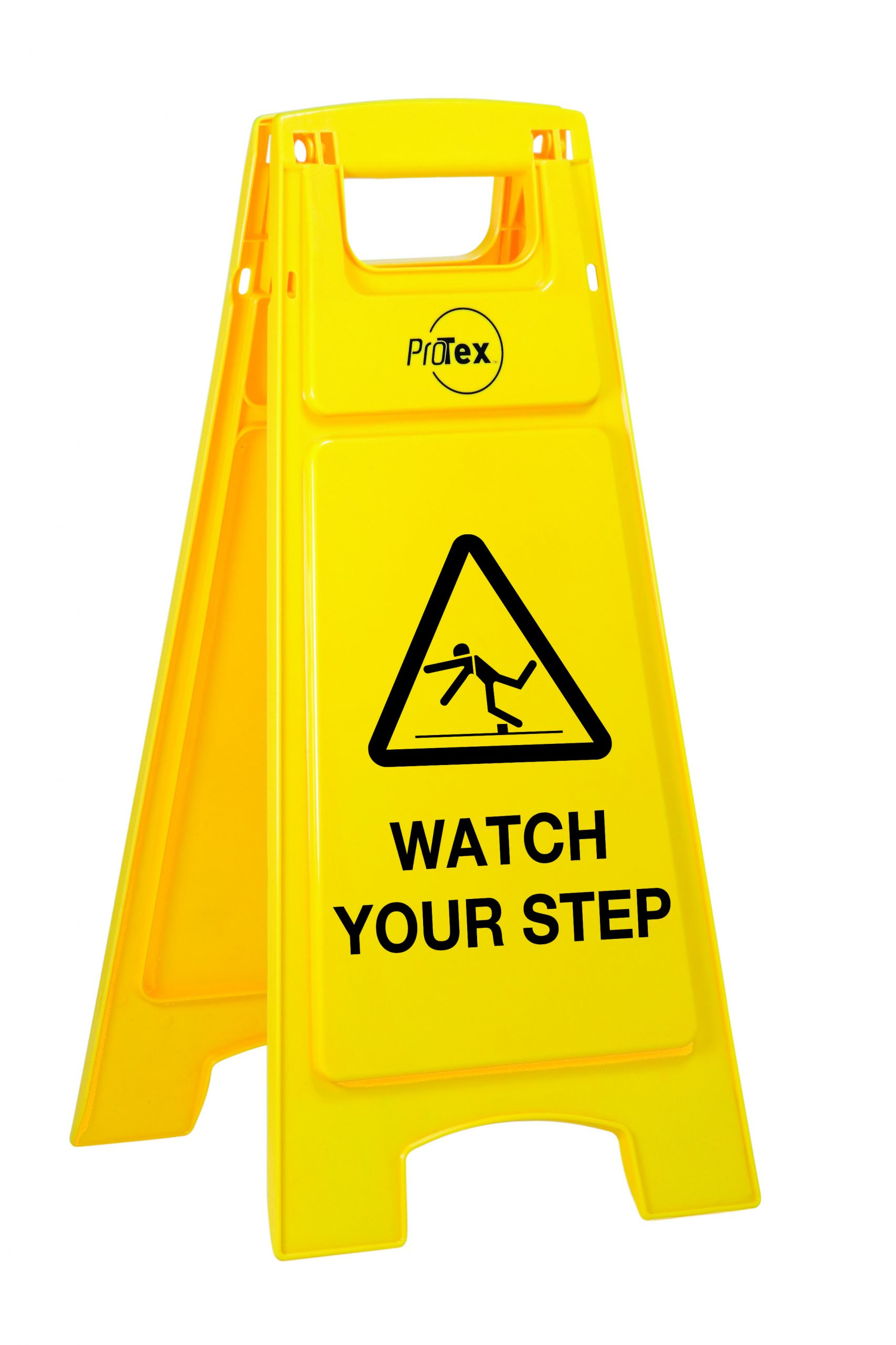 A Type Floor Signage Watch Your Step Caution Signage